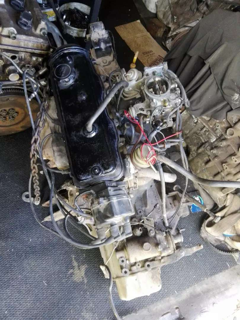 Toyota Tazz 1.3 engine and 5 speed gearbox 0