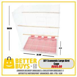 Bird Cage Large asst colors - colours, other sizes from R325 DIY Econo