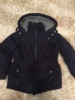 Детская теплая зимняя куртка Chicco