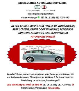 SILGE AUTOGLASS SUPPLIERS & FITTERS