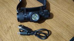 Мощный налобный фонарь DHT901B1 на светодиоде CREE XM-L2 + USB кабель