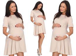 NATALIA trapezowa ciążowa sukienka _ XL / 42
