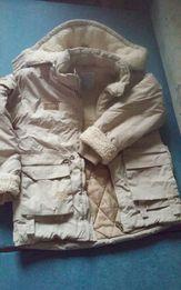 Зимняя детская куртка на овчине