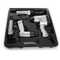 ZESTAW 34el. NARZĘDZI PNEUMATYCZNYCH 4 narzędzia + nasadki Okazja!!!