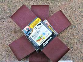 Sand Paper 75 x 533mm belt - 80 grits 3 in packet