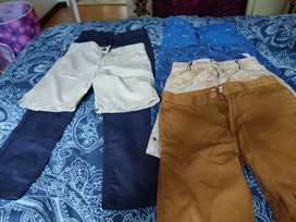 7-8 years Kids Trousers and full Pant