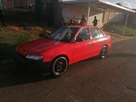 Hyundai accent 1.5 95 to swop for a small bakkie.
