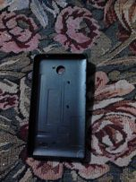 Задняя крышка (чехол) Nokia Dual Sim (RM-980) черного цвета