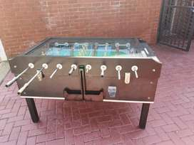 Soccer machine coin operated