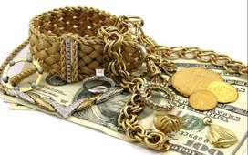 Gold, coins, silver exchange