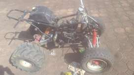Quad bike strip for spares