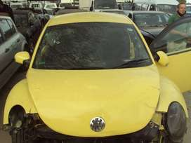 VW160- VW Beetle 2006 Stripping for spares
