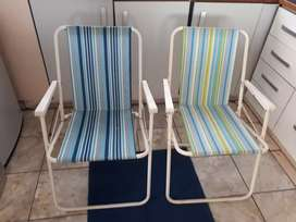 Folding Camping Chairs - Urgent Sale