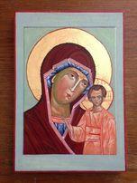 Ікони икона Весільна пара Свадебная пара ручная работа позолоченные