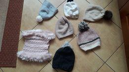 czapki dla dziewczynki