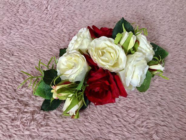 Kwiaty do włosów ślub ślubne upięcie boho Białystok - image 1