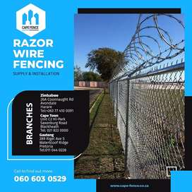Razor wire Products | Supply & install