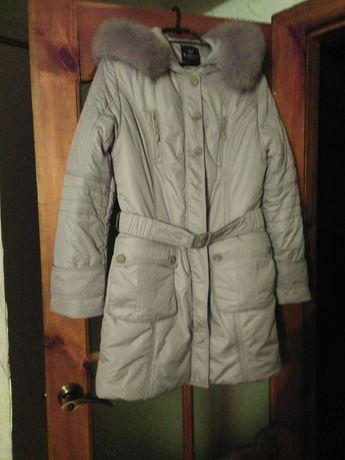 Зимняя курточка пальто 50 размер новая серая Конотоп - изображение 1