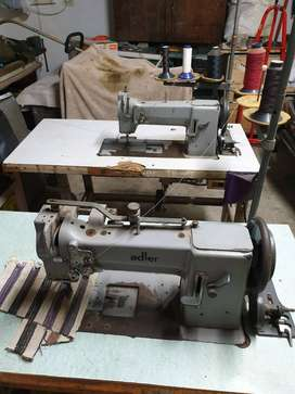 Upholstery sewing machines & equipment.
