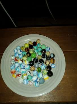 Collectable milkys variety marbles