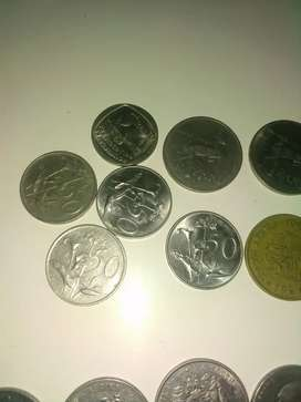 Different coins for sale