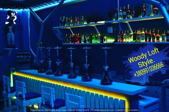 Акции Диваны из поддонов Loft. Барные стойки,барные стулья,столы,полки Киев - изображение 4