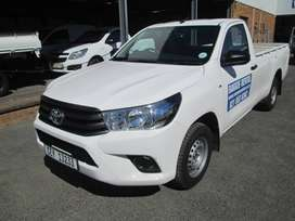 For Hire - Toyota Hilux 2.4GD Open/Enclosed