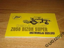 Instrukcja Obsługi Regulacji BIZON Z056 Z0 56 mtz
