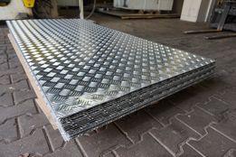 Blacha ryflowana aluminiowa, aluminium 3x1000x2000