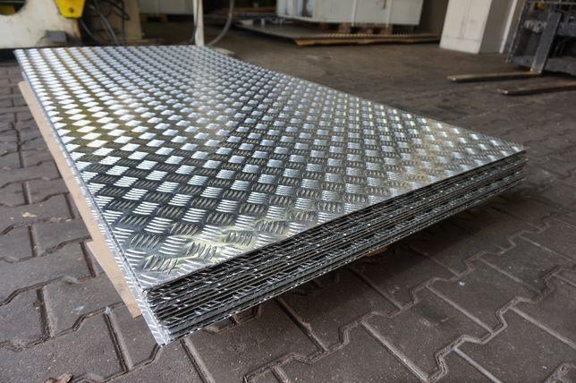 Blacha ryflowana aluminiowa, aluminium 3x1000x2000 Toruń - image 1