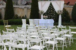 W plener-białe krzesła i Chiavari-Krosno,Kraków, Mielec,Rzeszów,Tarnów