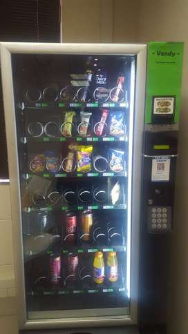 Vending machine with site for sale in Centurion. Min Gross Profit@10%