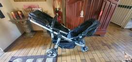 Double trouble pram as new