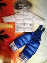 Теплый зимний костюм размер S