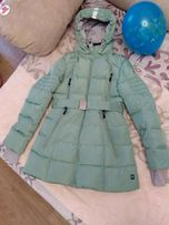 Продам пальто куртка пуховик теплая Snowimage отличное состояние