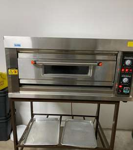 2 Tray Deck Electrical Oven