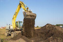 Rozbiórki, wykopy, wyburzenia, humus, żwir, piasek, kruszywa granitowe