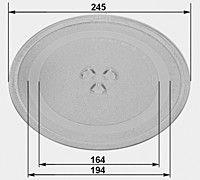 Тарелка и дрг для микроволновки
