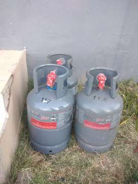 9kg gas cylinder full with gas for R680