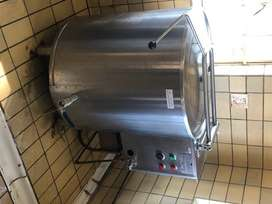 Industrial, 225 litres, oil jacketed pot (stainless steel))
