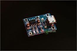 Moduł:Ładowarka ogniw Li-ion z TP4056, mikro USB 1A