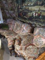 Продам Старинный мягкий уголок диван кресла мягкая мебель комплект