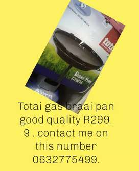 Totai gas braai pan