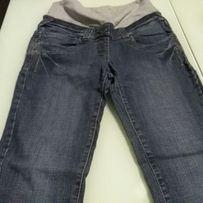 Spodnie ciążowe jeans 36 niezniszczone