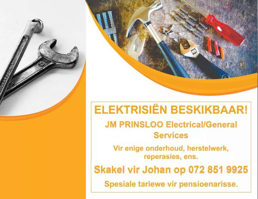 Electrician available 0