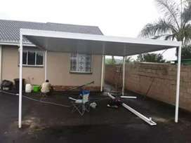 Carports awning and precast fencing