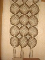 салфетка вязаная крючком из тонких льняных ниток на журнальный столик