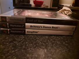 Im selling 3 PS2 game discs