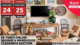 Timed Online Salvage & Warehouse Clearance Auction