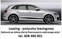 Leasing - Pożyczka - finansowanie pojazdów
